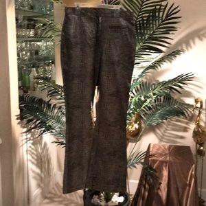 Pure Pants - Snakeskin Pants SZ 8